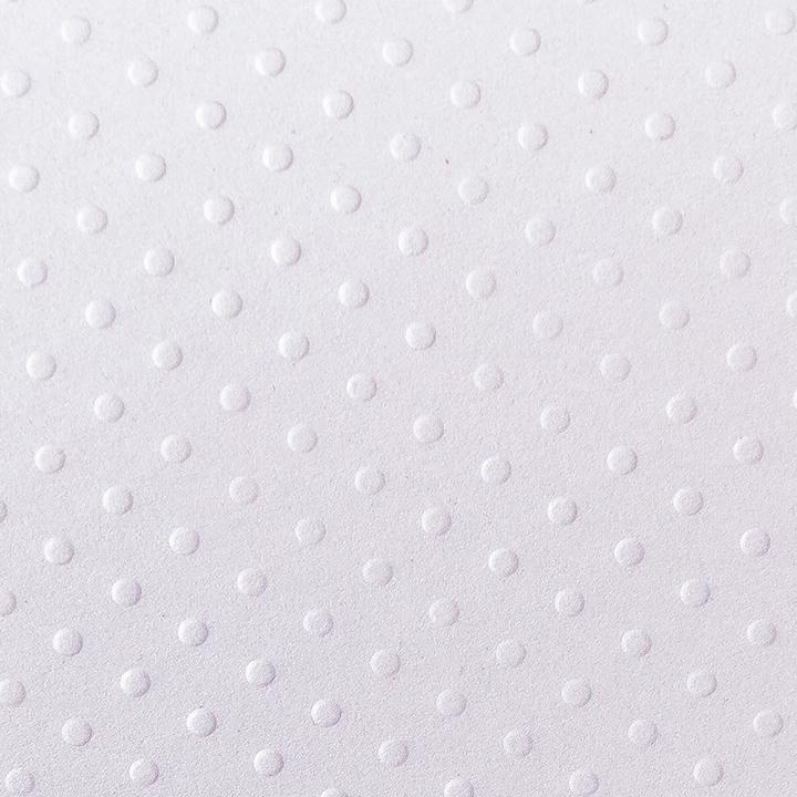 kropki białe