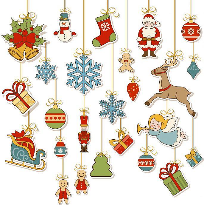 zawieszki na choinkę świąteczne ozdoby