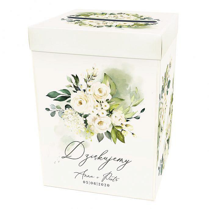 pudełko na koperty prezenty weselne