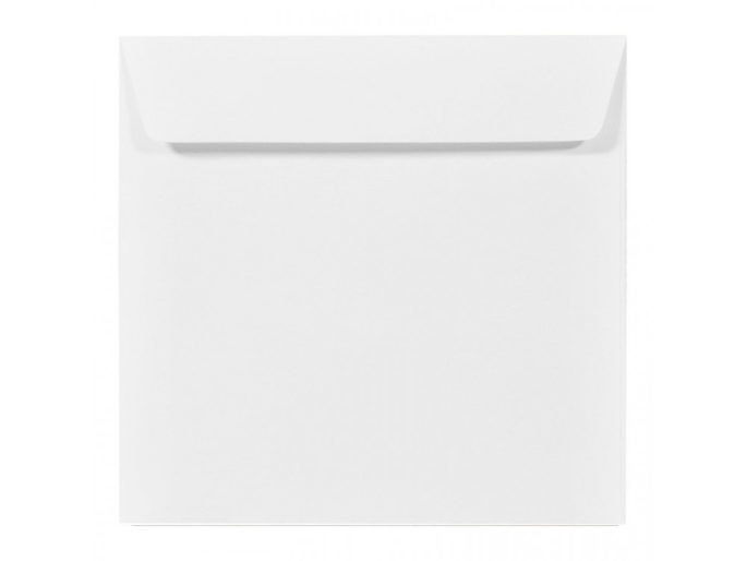 Biała koperta k4 prosta klapka