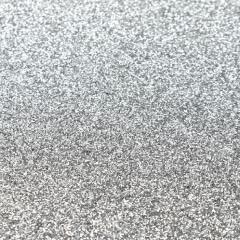 srebrny brokatowy